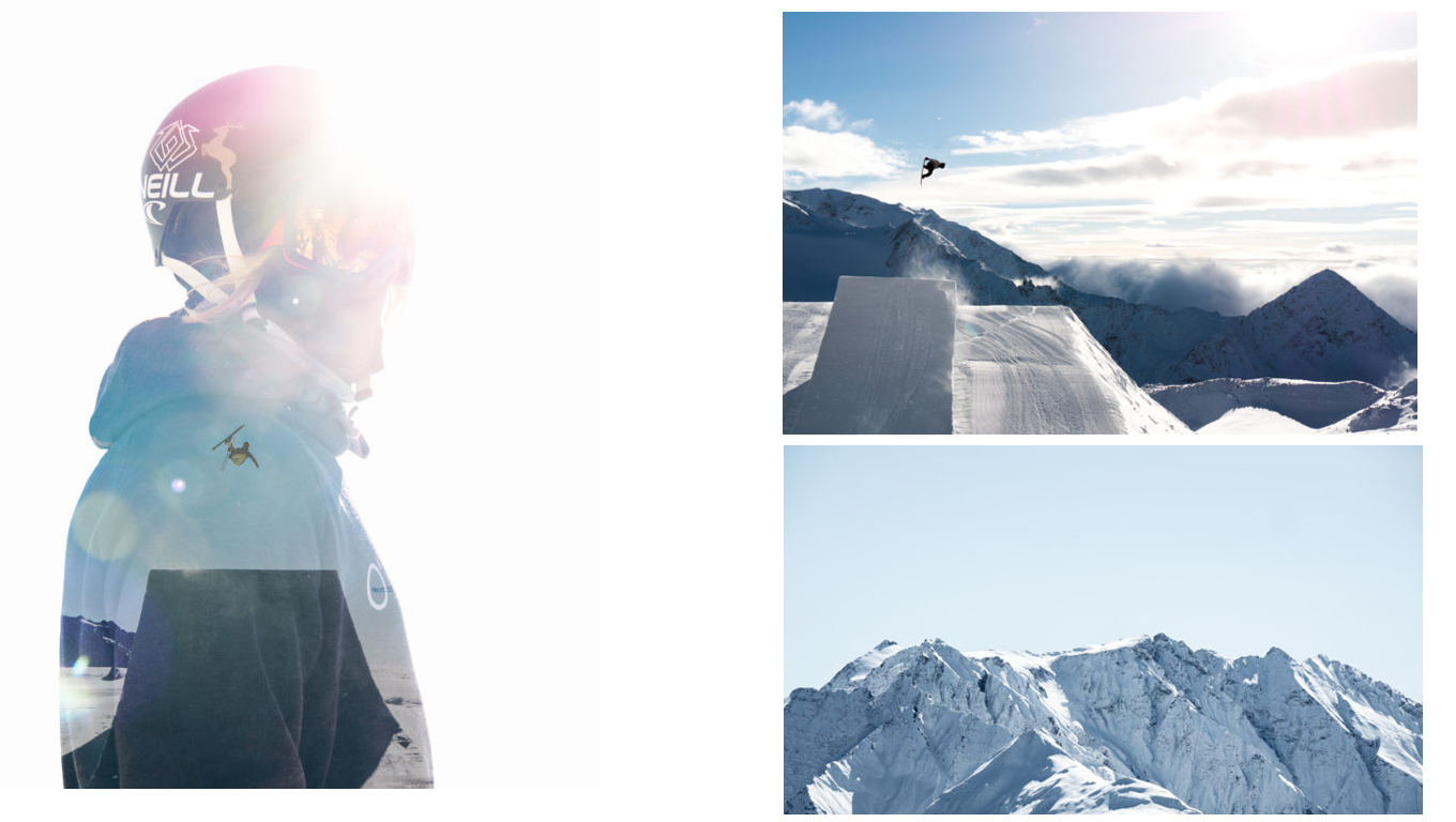 Better Photography - Skiing double exposure