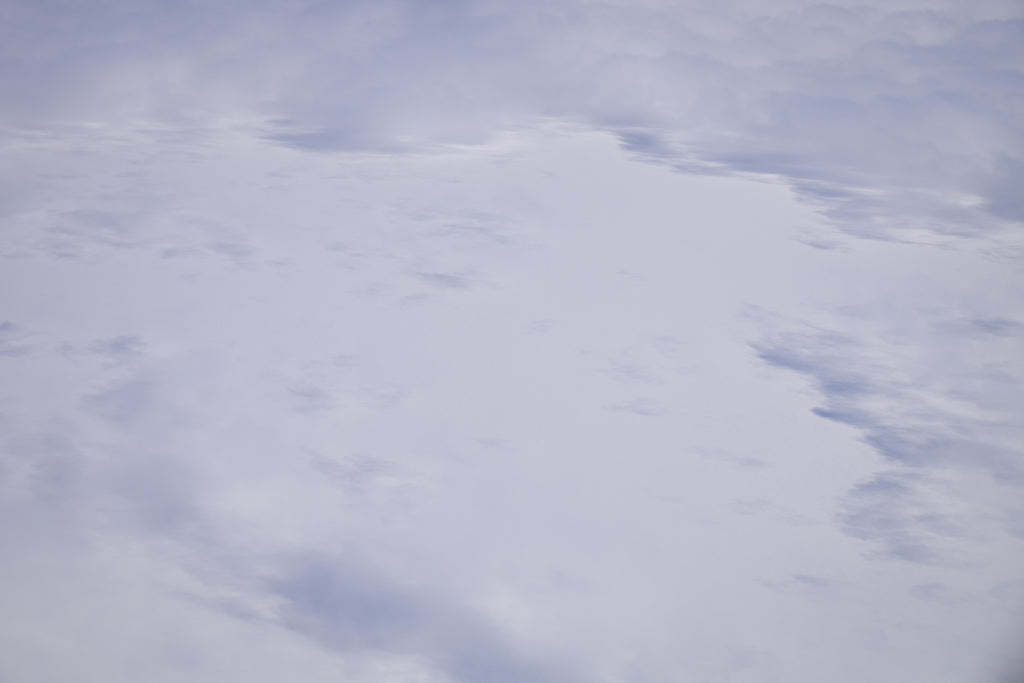 Flying over the Greenland Icesheet