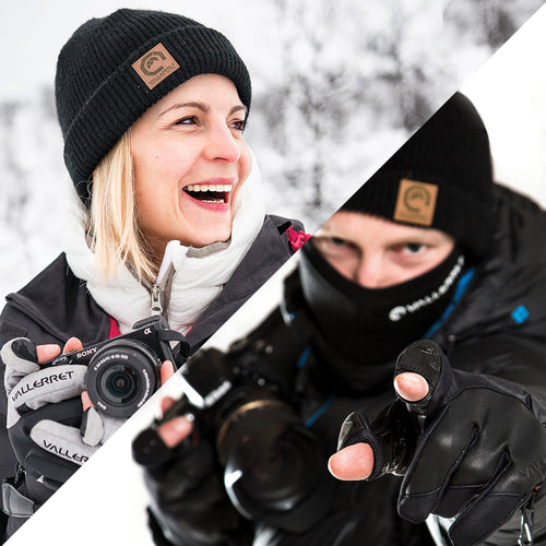 Vallerret Photography Gloves Founders