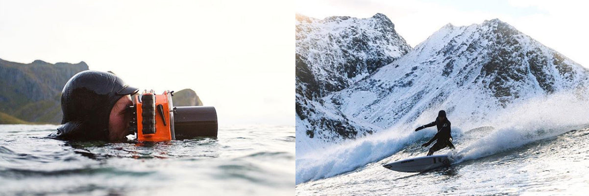 How to shoot arctic surf