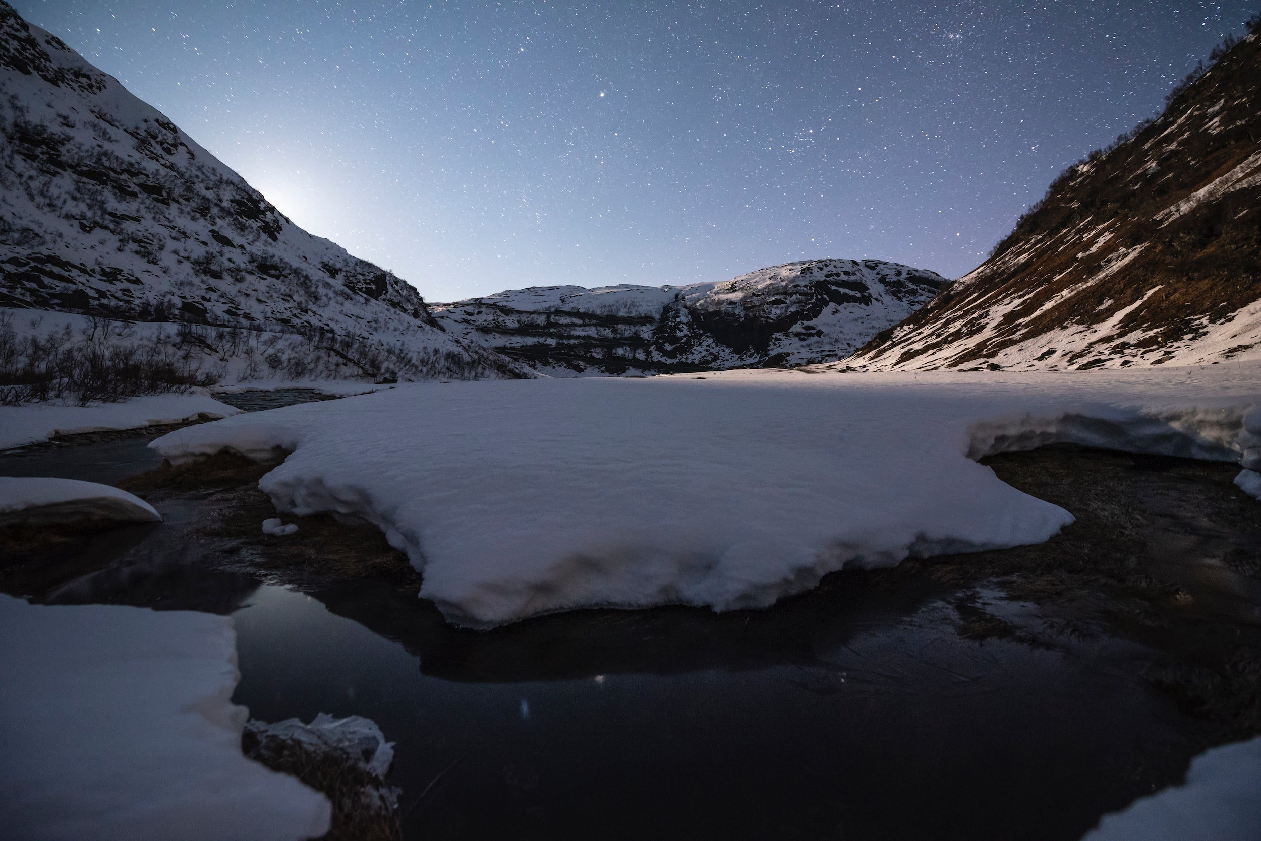 Higher ISO for a starry night in norway
