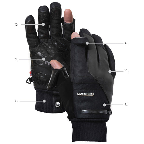 Photography Glove features of Markhof Pro