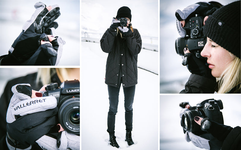 Womens photography gloves