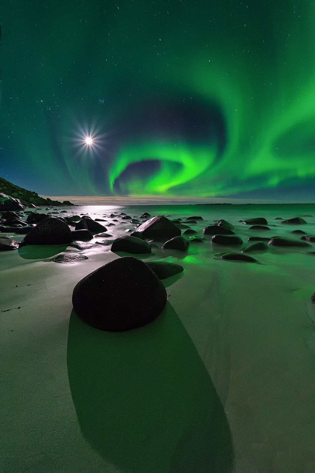 Northern lights in Iceland (pedro kin)
