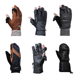 winter photography gloves collection 2021