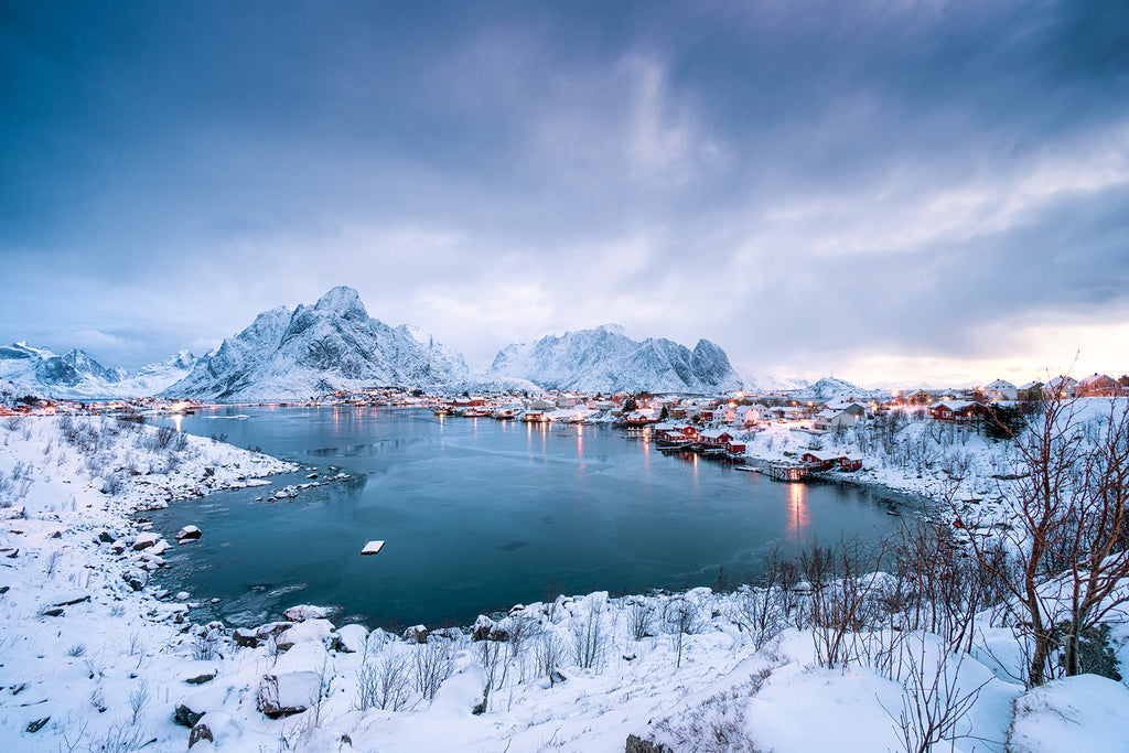 Reine Norway in winter
