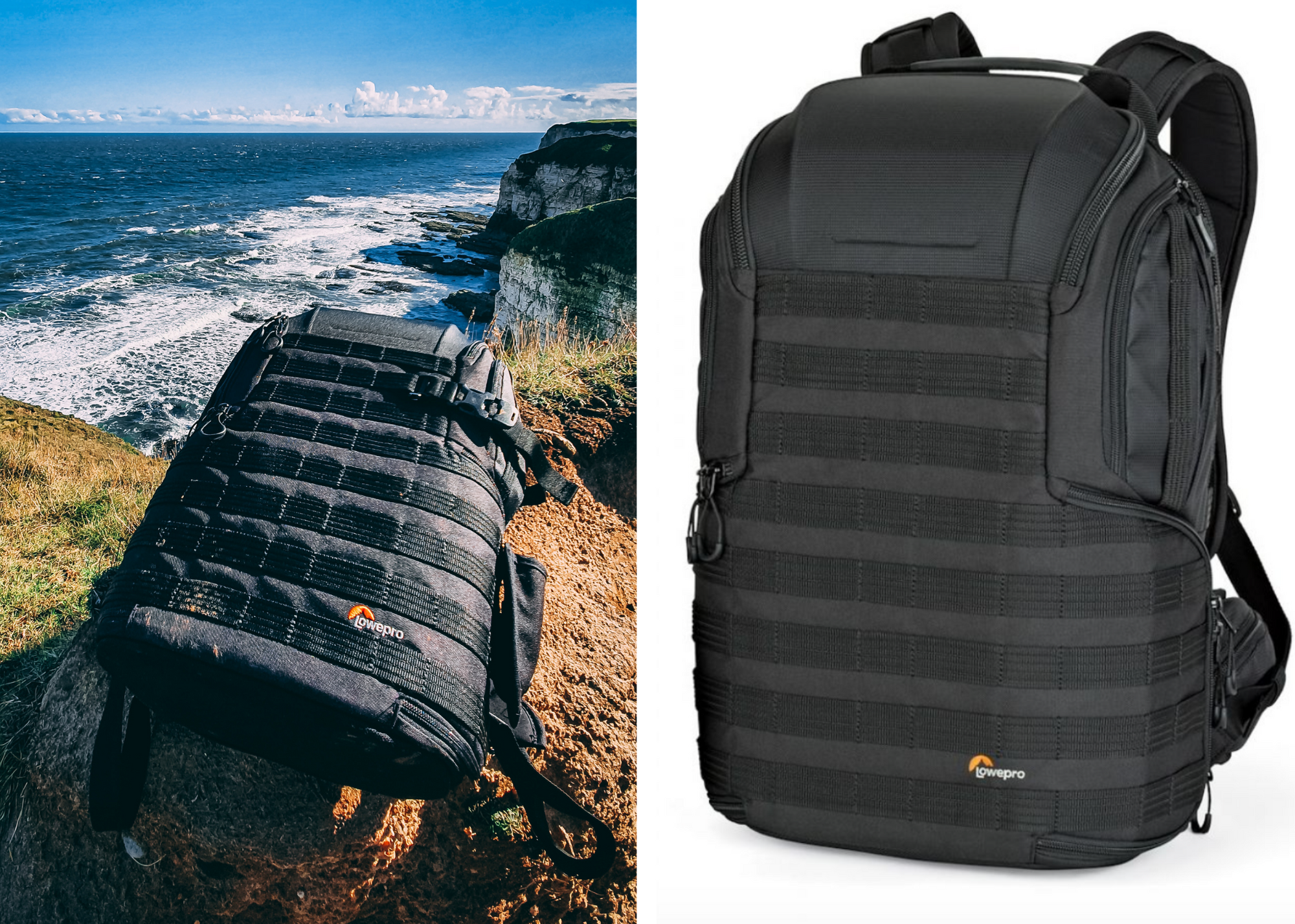 Lowepro Protactic BP 450 AW II camera bag for winter photography