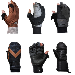 winter photography gloves collection 2020