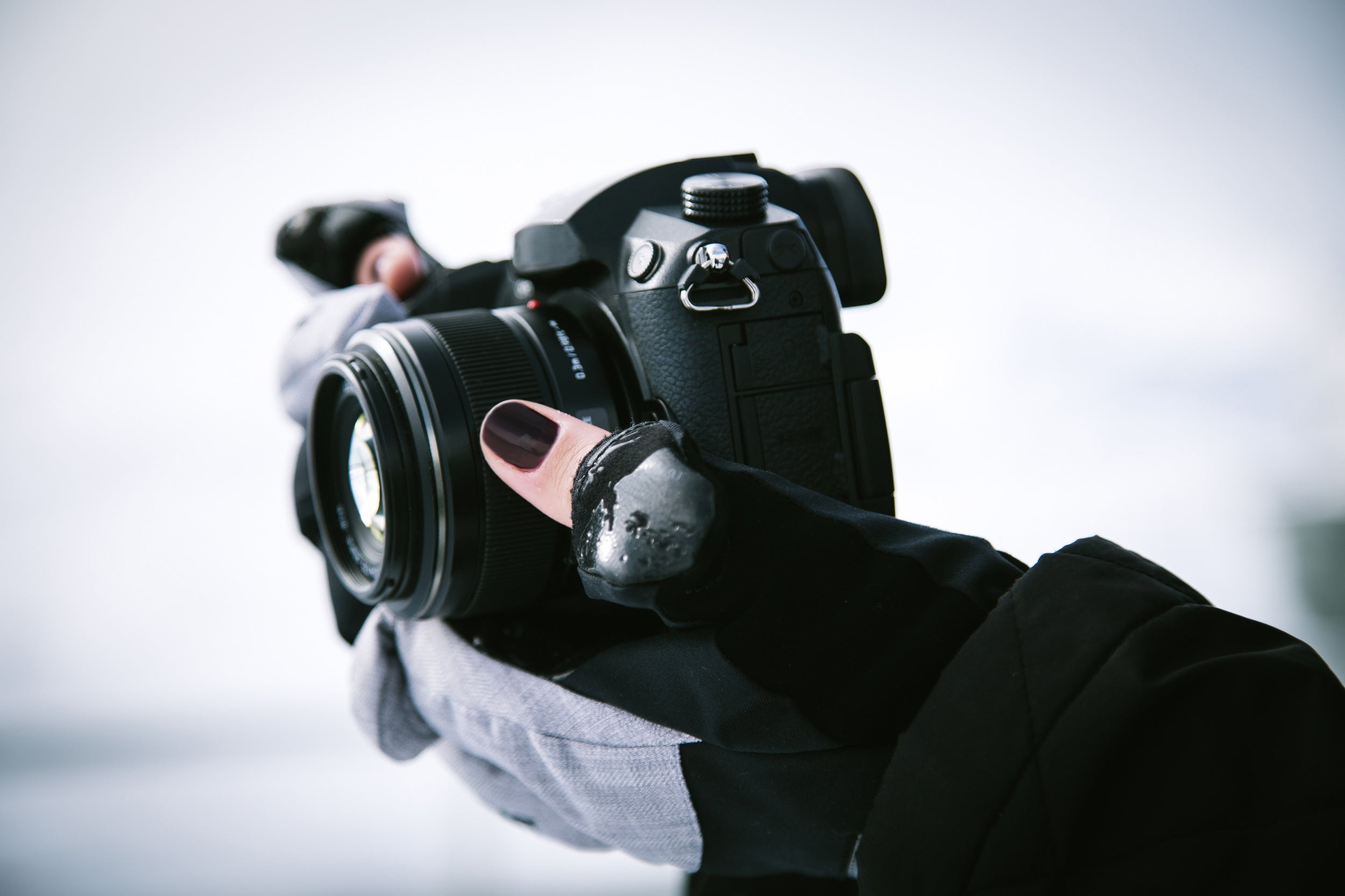 Gloves for winter photography