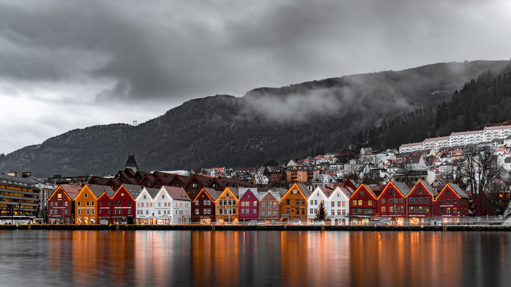 house on the water - Bryggen, bergen norway