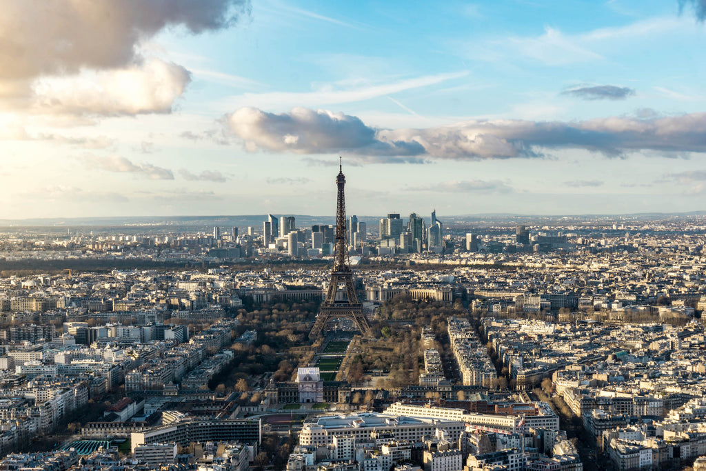 Eiffel Tower from Montparnasse Tower