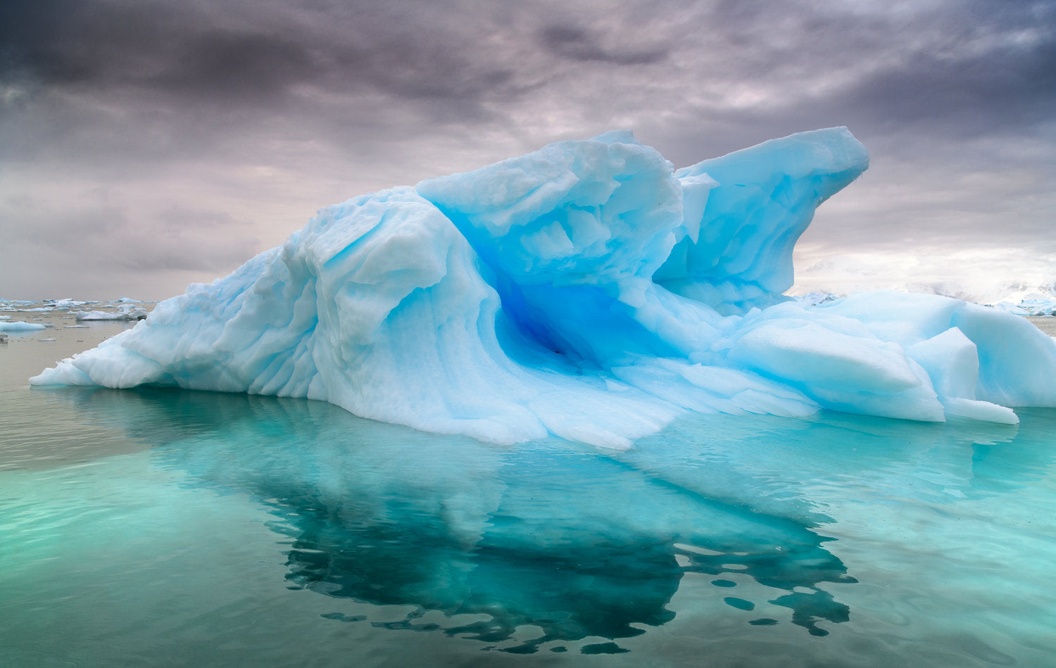 Icebergs in antarctica photo by muench workshops
