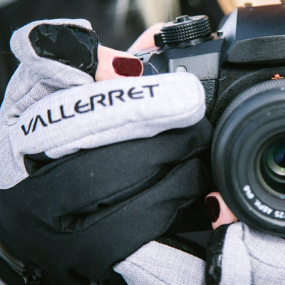 Vallerret Photography Glove | W's Nordic (Grey) by Vallerret Photography Gloves