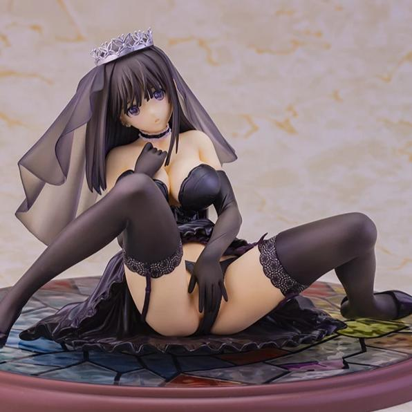 (R-18) Fault!! - Saeki Ai - Skytube - T2 Art☆Girls - 1/6 - Wedding Ver., Black