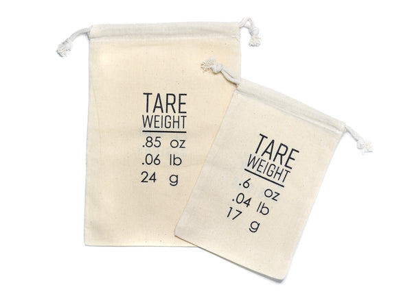 Tare Weight Bags | Set of 2