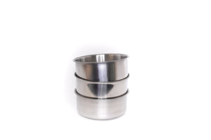 "4"" Stainless Steel Bowls 