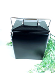 Custom matte black vintage cooler