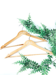 Wedding coat hanger pack of 4