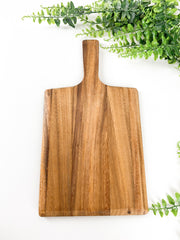 Custom Wild Wood Serving Paddle