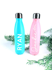 Custom 500ml insulated drink bottle