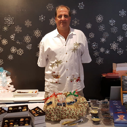 My name is Mike Johnson and I am the owner and main chocolatier at Cloud 9 Chocolates, which I started in 2010 in Pensacola, Florida. After my time as pastry chef of Commander's Palace Destin, and with over 32 years in the restaurant industry