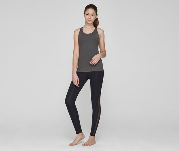 RL.15| Side Pocket & Mesh Panel Leggings