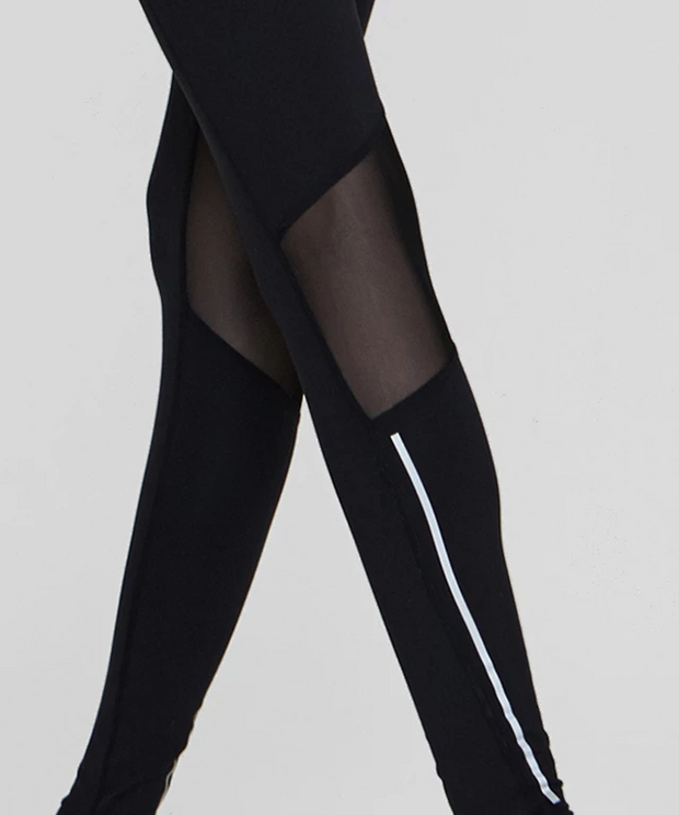 RL.19| Reflective Stripe Leggings