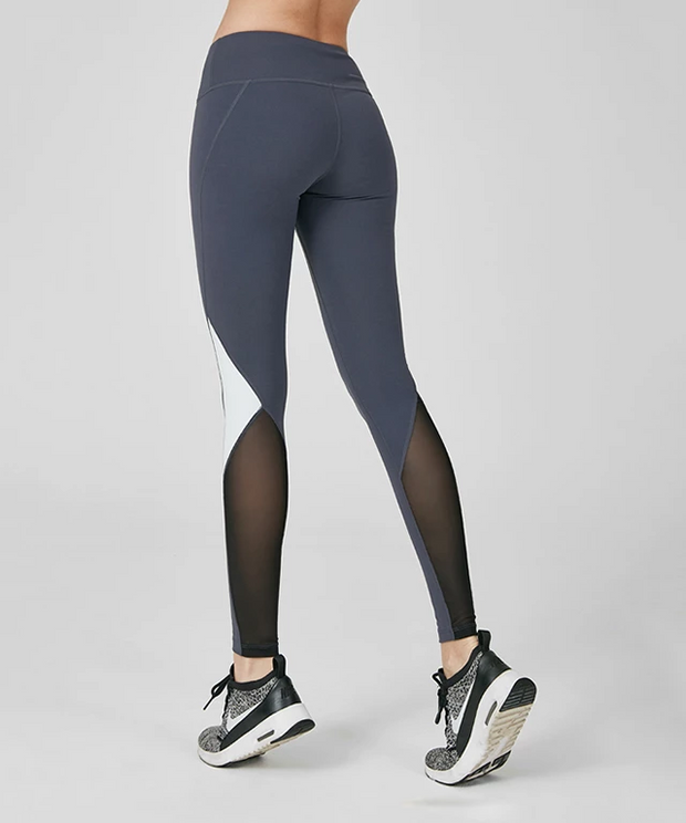 RL.20| Mesh Calf Panel Leggings