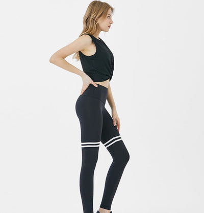 RL.4| Two Stripe Contrast Leggings