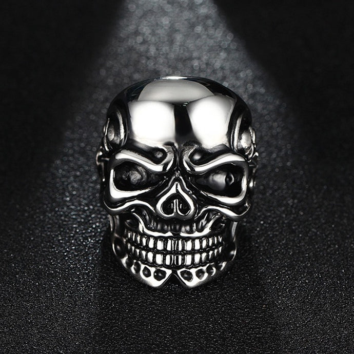 Bague Tête de Mort - Johnny Blaze - Clout Jewelry - Paris