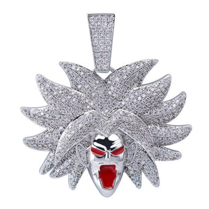 Collier Dragon Ball Z - Broly - Clout Jewelry - Paris