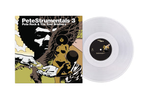 PETE ROCK EXCLUSIVE: PETESTRUMENTALS 3 | CLEAR VINYL ALBUM