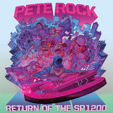 Pete Rock:  Return Of The SP1200 (BLUE VINYL)