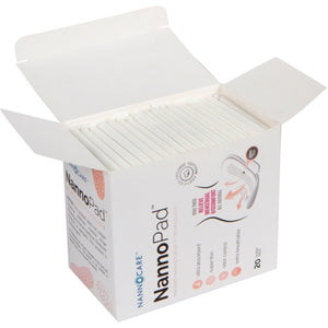3 x Super 5%OFF - Nannopad organic cotton sanitary pad day pad night pad pantyliner for women cramp relief pain relief pms period pain holistic natural relief relieve pain painkiller