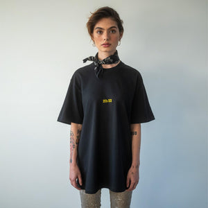 Load image into Gallery viewer, Unisex tee black - 22:22