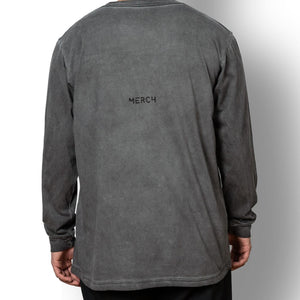 Load image into Gallery viewer, Unisex long sleeve t-shirt washed grey