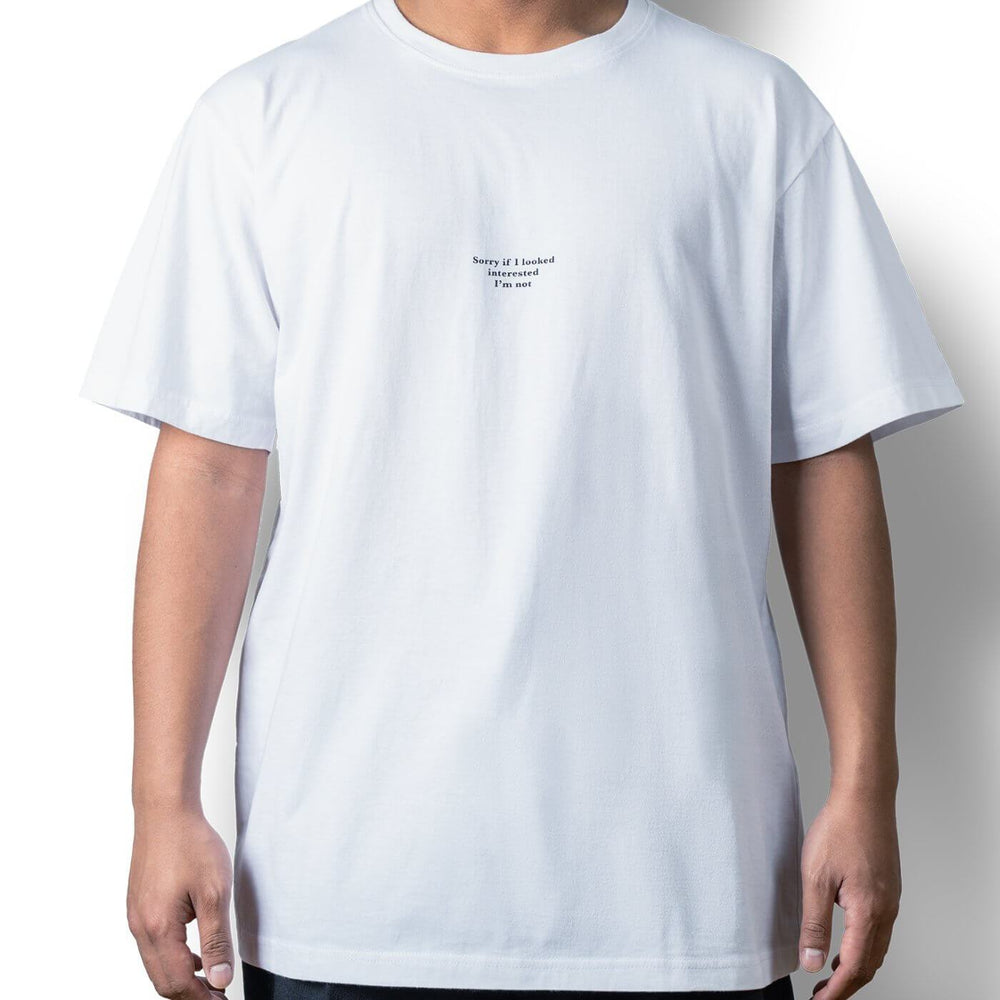 Load image into Gallery viewer, Unisex tee white - Sorry if