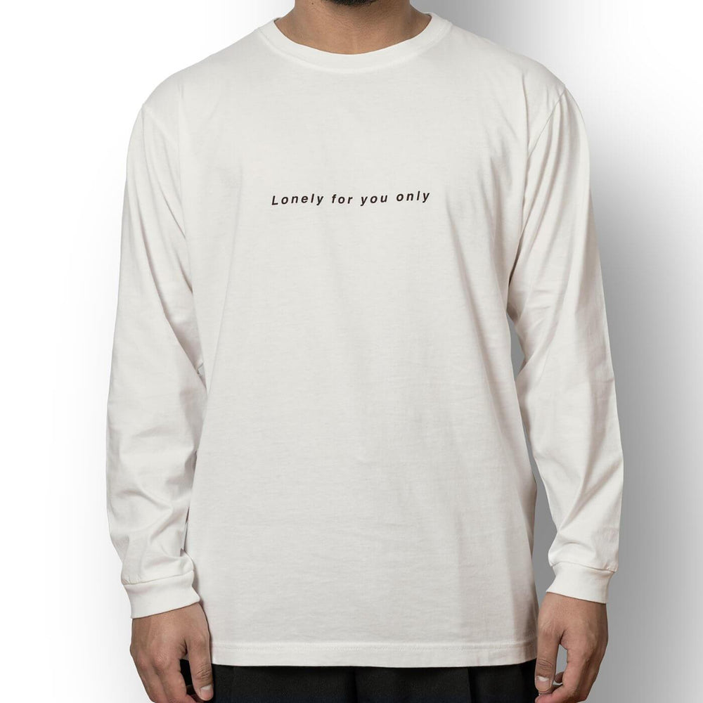 Load image into Gallery viewer, Unisex long sleeve t-shirt off white