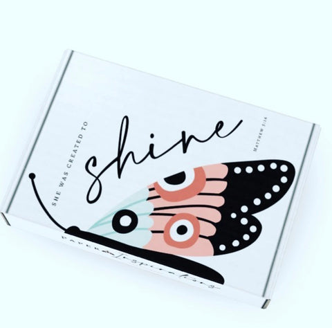 She Was Created To Shine Planner