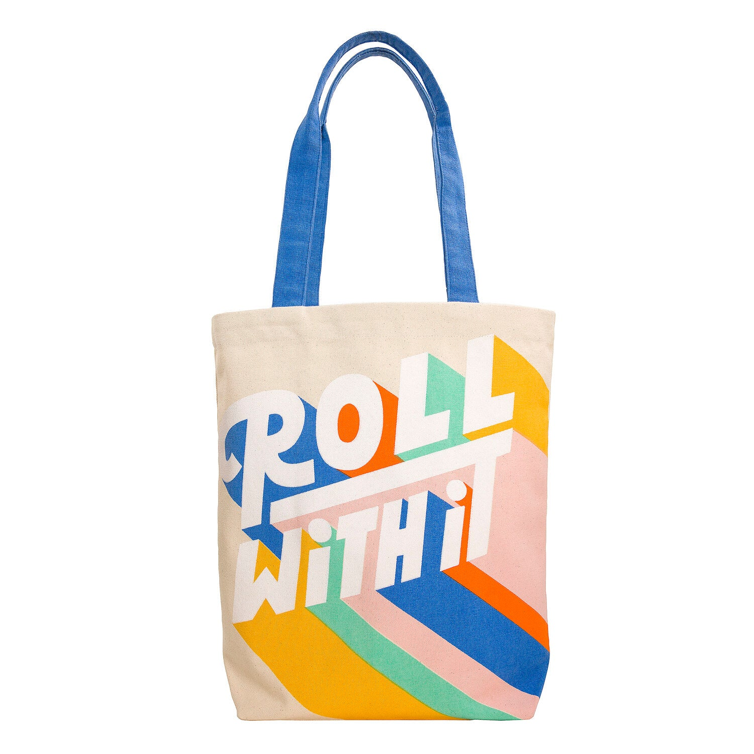 Roll With It Retro Tote Bag