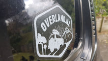 Overland NZ Sticker Pack