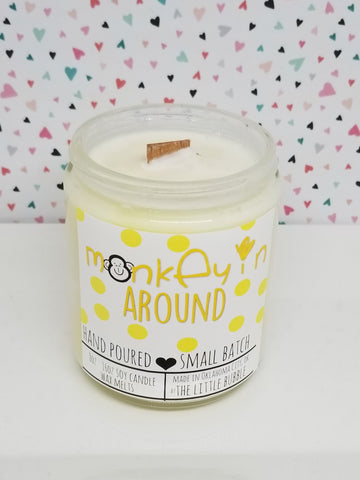 Monkeyin Around~ Soy Candle