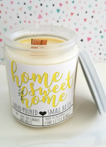 Home Sweet Home ~ Soy Candle