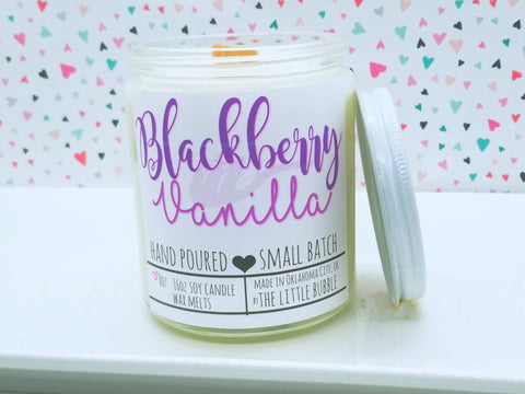 Blackberry Vanilla ~ Soy Candle