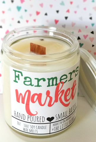Farmers Market~ Soy Candle