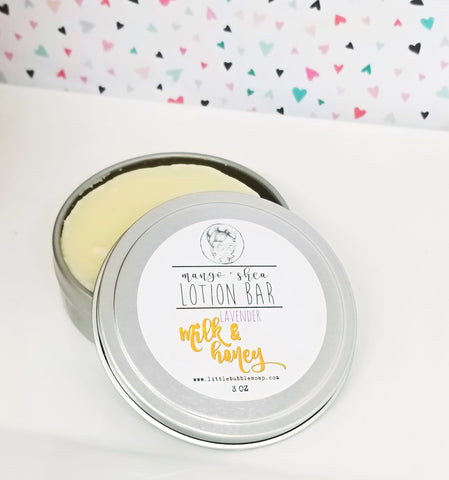 Lavender Milk & Honey Lotion Bar