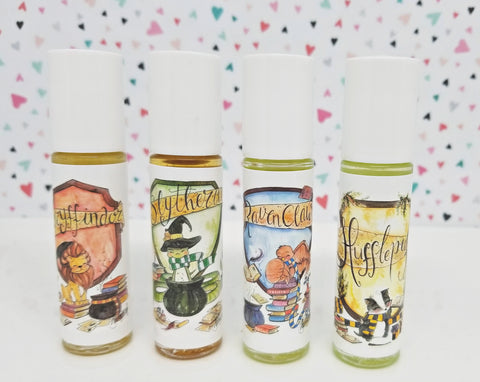 Harry Potter Fandom Perfume Rollers