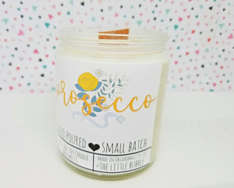Prosecco ~ Soy Candle