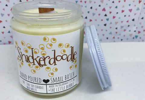 Snickerdoodle ~ Soy Candle Jar - Holiday 2020