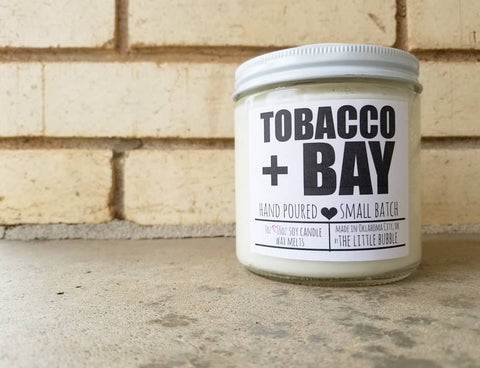 Tobacco & Bay ~ Soy Candle